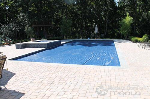 Modern Comfort Pools | Gunite Concrete And Steel Wall Inground