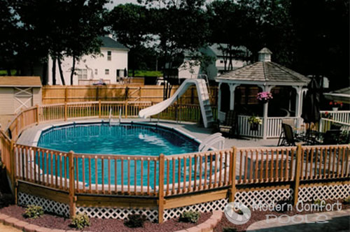 Modern Comfort Pools Nassau Suffolk S Source For Semi